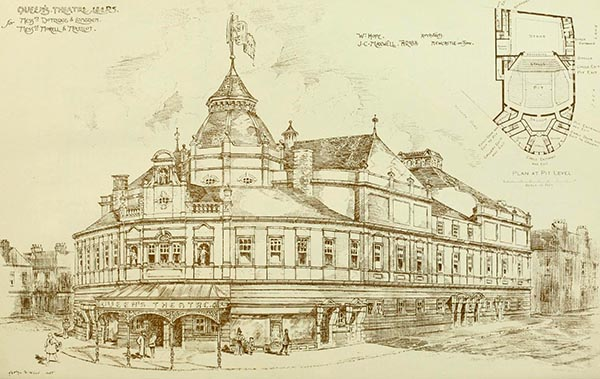 1898 – Queen's Theatre, Leeds, Yorkshire