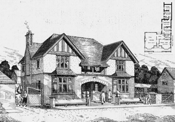 1905 – Hotel at Adwick le Street, Yorkshire