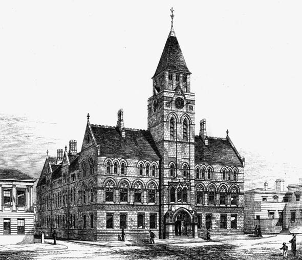 1877 – Wakefield Town Hall, Yorkshire