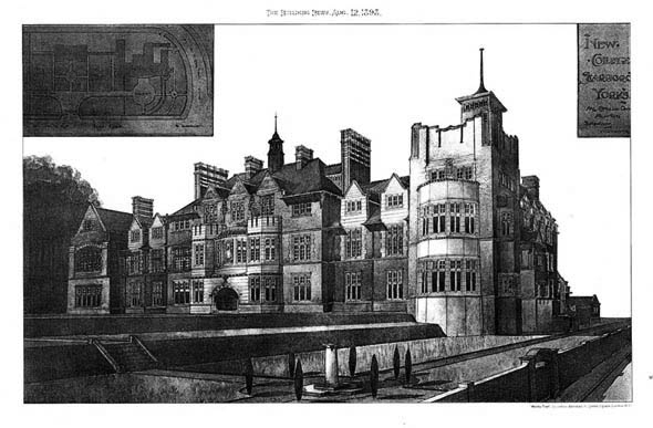 1898 – New College, Scarborough, Yorkshire