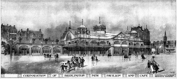 1906 &#8211; New Pavilion &#038; Cafe, Bridlington, Yorkshire