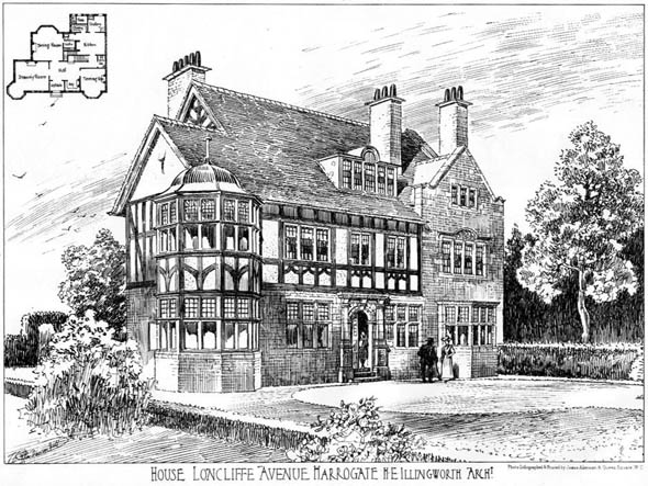 1905 – House, Lioncliffe Avenue, Harrogate, Yorkshire