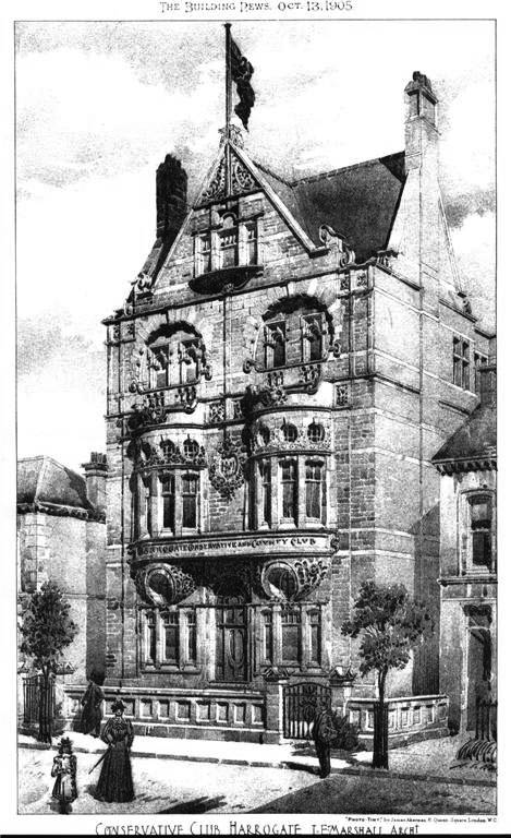 1905 &#8211; Conservative Club, Harrogate, Yorkshire