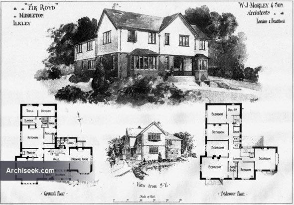 "1906 – ""Fir Royd"", Middleton, Ilkley, Yorkshire"