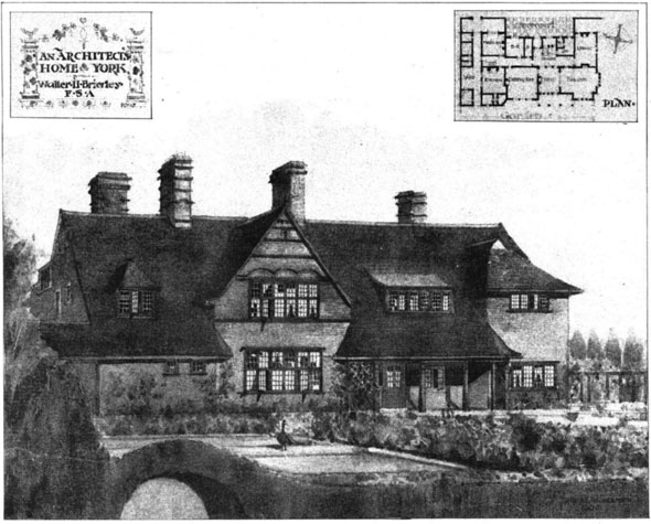 1906 &#8211; An Architects Home, York, Yorkshire