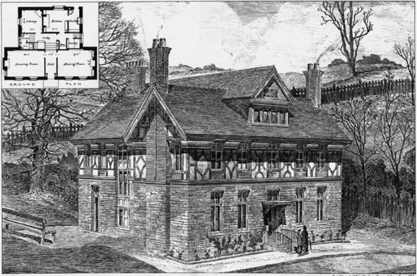 1881 – House at Ranmoor, Sheffield, Yorkshire