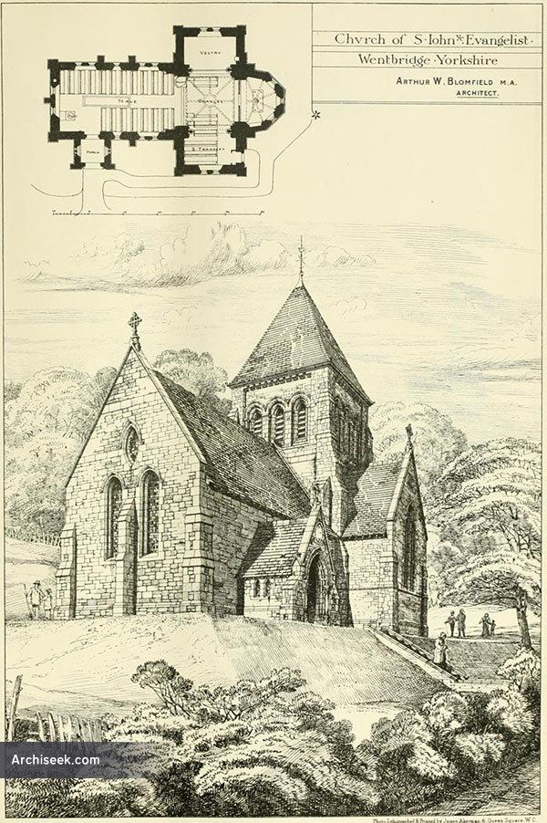 1879 – Church of St. John the Evangelist, Wentbridge, Yorkshire