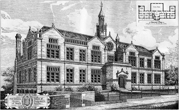 1879 – Free Grammar School, Heath, Halifax, Yorkshire