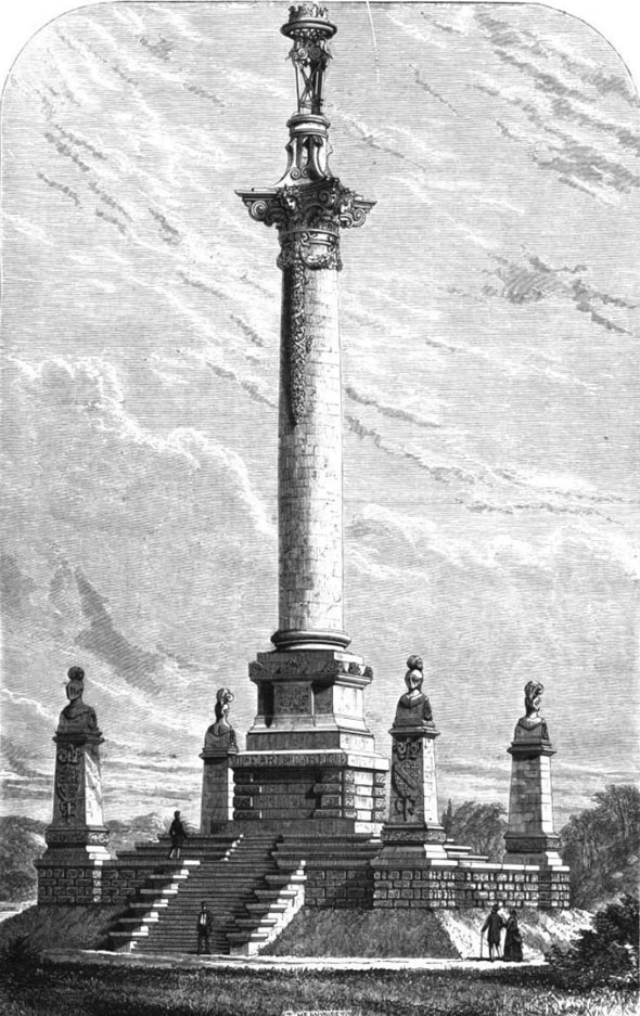 1870 &#8211; Carlisle Memorial Column, Castle Howard
