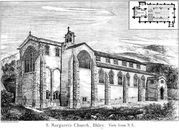 1879 &#8211; St. Margarets Church, Ilkley, Yorkshire