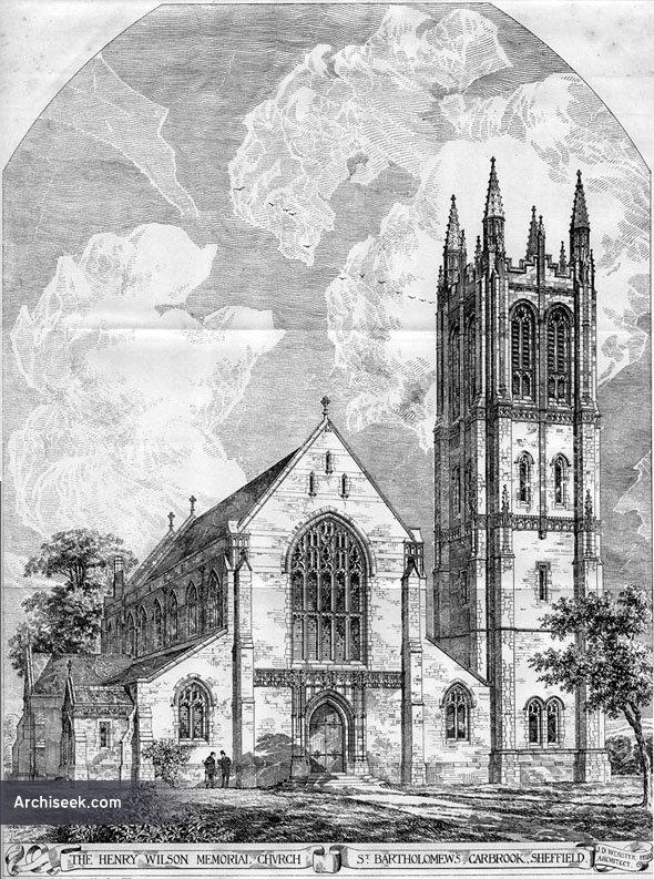 1884 – St. Bartholomews, Carbrook, Sheffield, Yorkshire