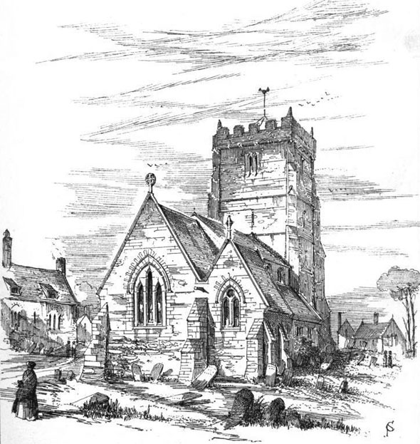 Kirkby Ravensworth Church, Richmond, Yorkshire