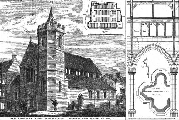 1884 – New Church of St. John, Scarborough, Yorkshire