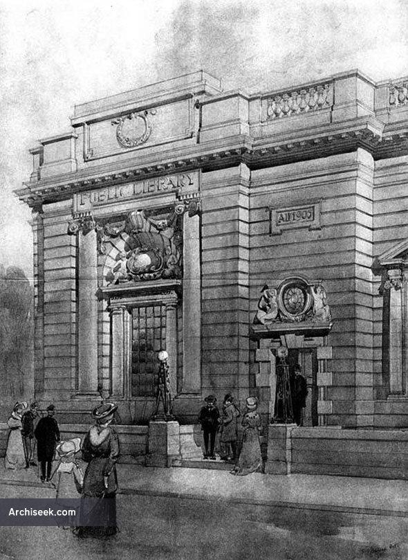 1905 – Public Library, Harrogate, Yorkshire