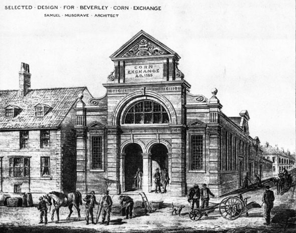 1886 &#8211; Beverley Corn Exchange, Yorkshire