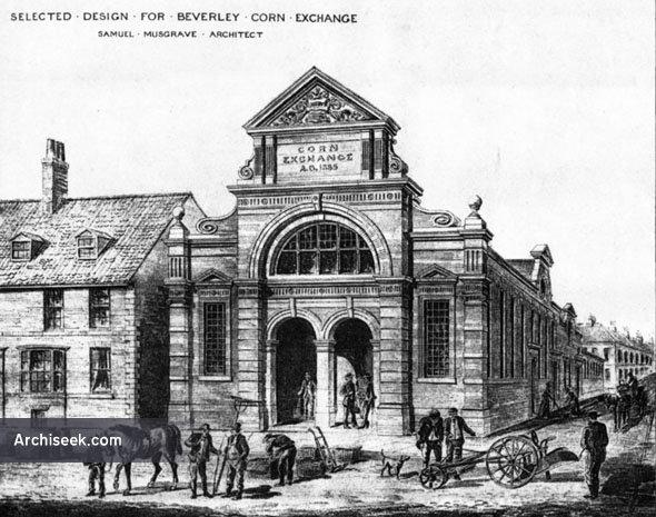 1886 – Beverley Corn Exchange, Yorkshire