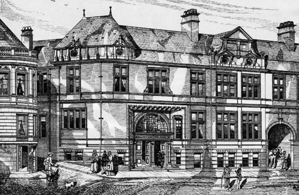 1886 &#8211; Friends Meeting House &#038; Institute, York