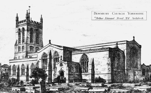 1883 – Dewsbury Minster, Yorkshire