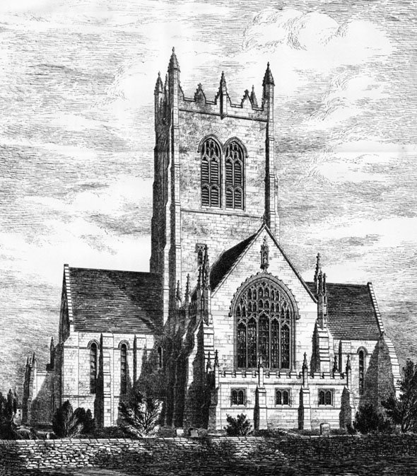 1885 &#8211; Church, Northallerton, Yorkshire