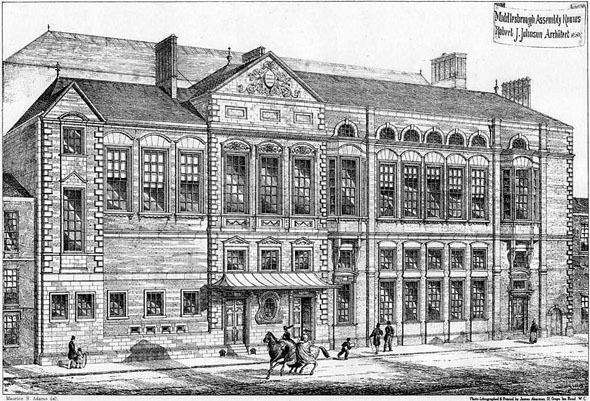 1875 – Middlesbrough Assembly Rooms, Yorkshire