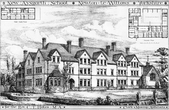 1887 &#8211; New Aysgarth School, Newton le Willows, Yorkshire