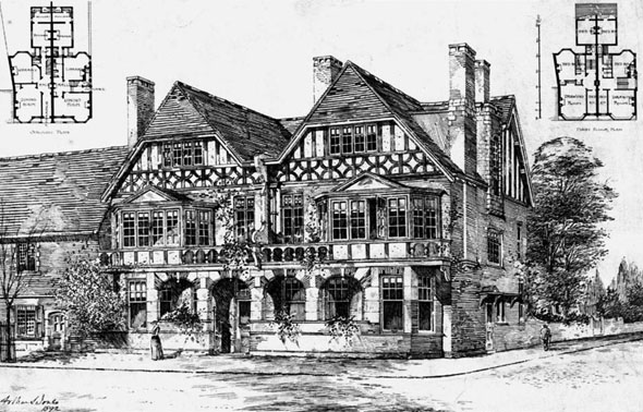 1892 &#8211; Houses at Bootham, York