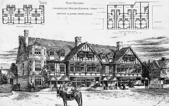 1893 – Five Houses, Cambridge House Estate, York