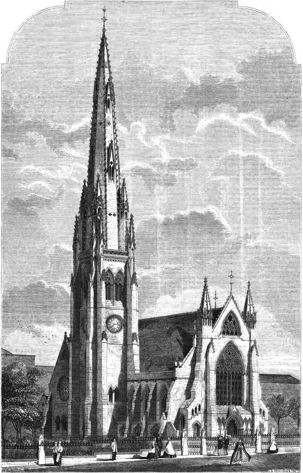 1863 &#8211; Square Church, Halifax, Yorkshire
