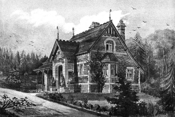 1888 &#8211; Lodge in The Vale of Pickering, Yorkshire