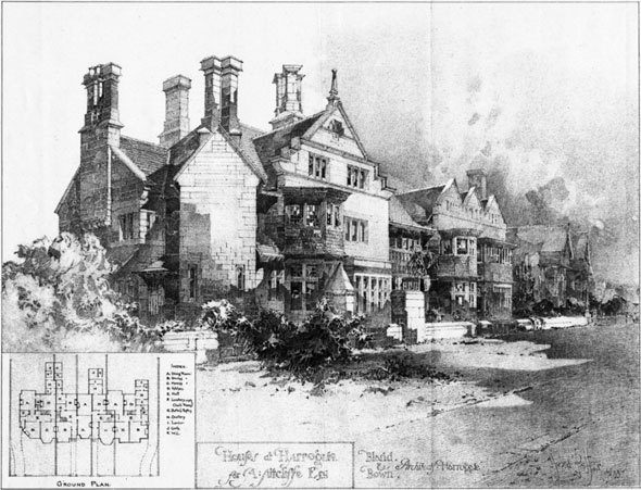 1900 – Houses at Harrogate, Yorkshire
