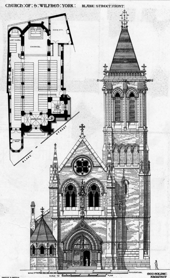 1864 &#8211; Church of St. Wilfred, York