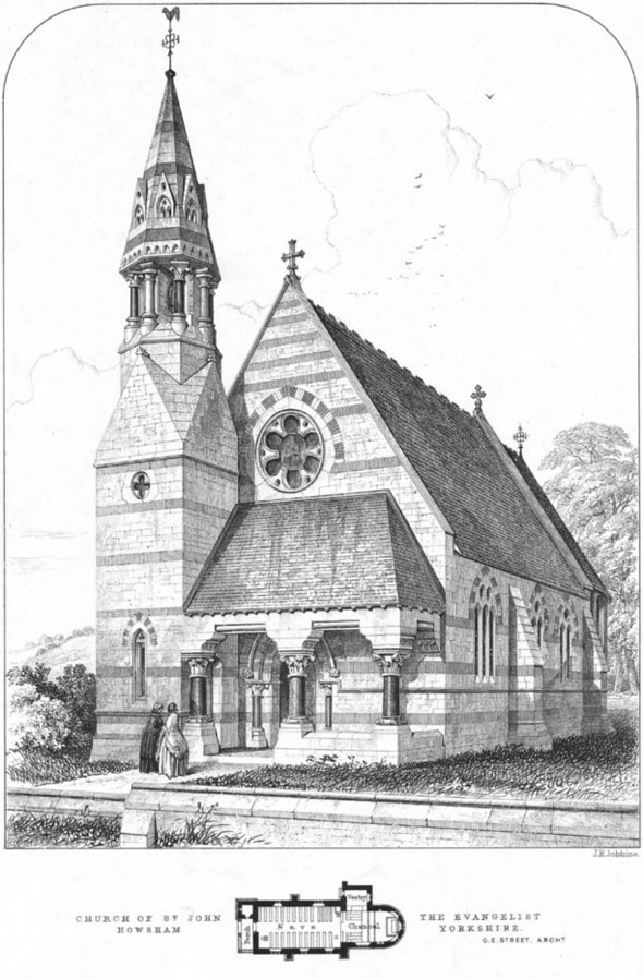 1860 &#8211; St. John&#8217;s Church, Howsham, Yorkshire