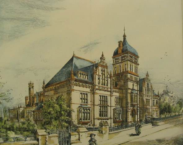 1891 – High School for Girls, Blackburn, Yorkshire