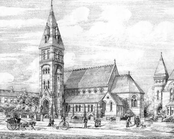 1879 &#8211; St. Silas Church, Kingston upon Hull, Yorkshire