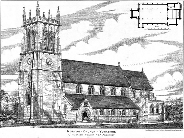 1891 &#8211; St. Peters Church, Norton-on-Derwent, Yorkshire
