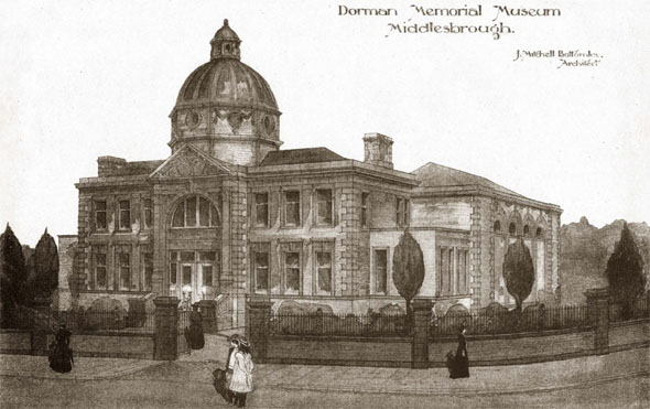 1904 &#8211; Dorman Memorial Museum, Middlesbrough, Yorkshire