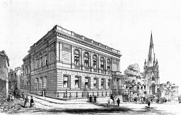 1871 &#8211; The County Court, Barnsley, Yorkshire