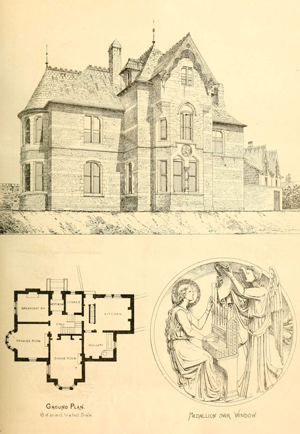 1871 &#8211; Villa, Broomhill, Sheffield, Yorkshire