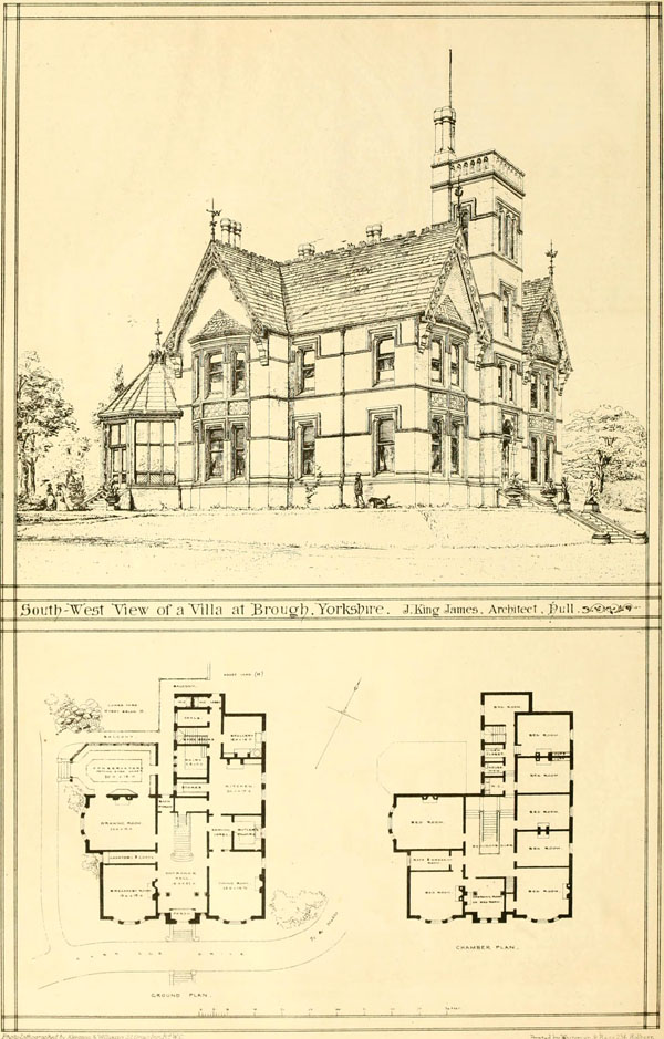 1872 &#8211; Villa, Brough, Yorkshire