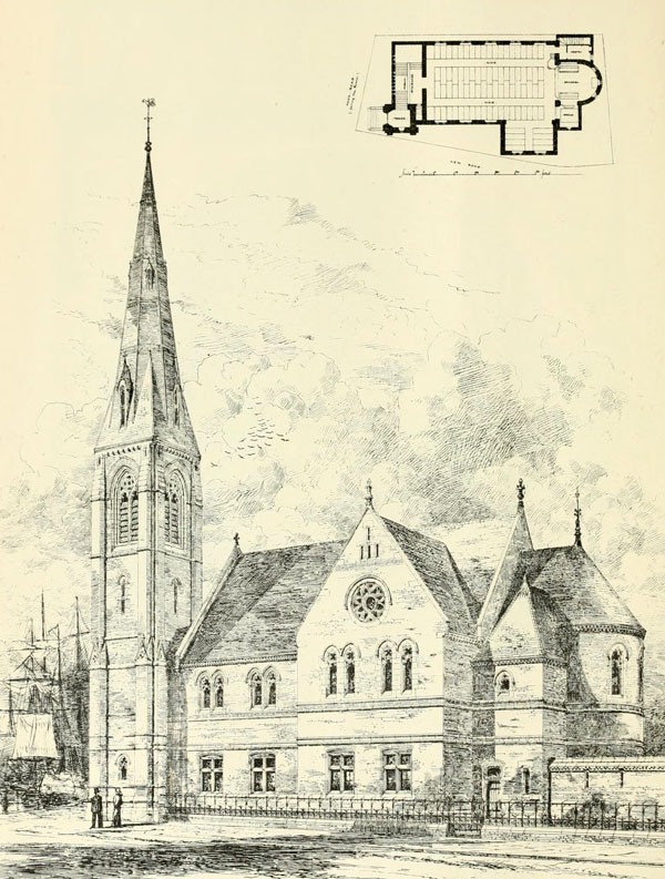 1874 &#8211; Congregational Church, Goole, Yorkshire