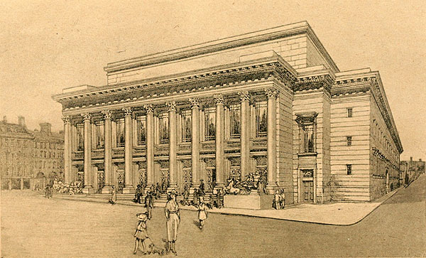 1920 – Designs for Sheffield War Memorial Halls, Yorkshire