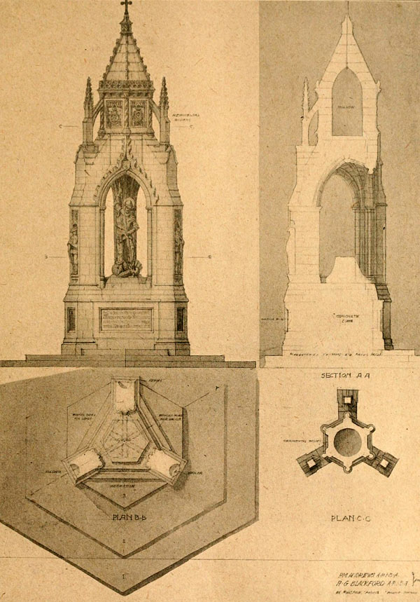1920 – Unbuilt War Memorial, Bridlington, Yorkshire