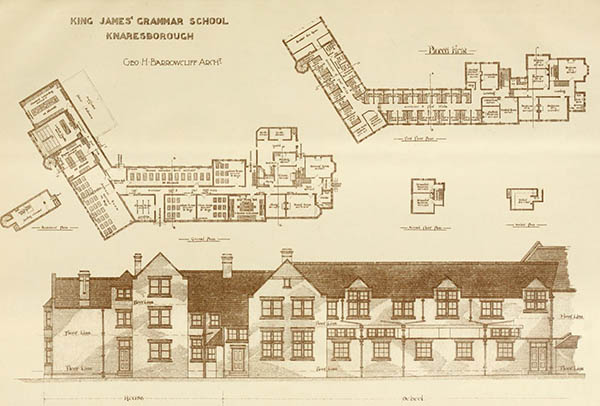 1898 – Kings James Grammar School, Knaresborough, Yorkshire