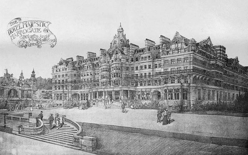 1899 – Hotel Majestic, Harrogate, Yorkshire