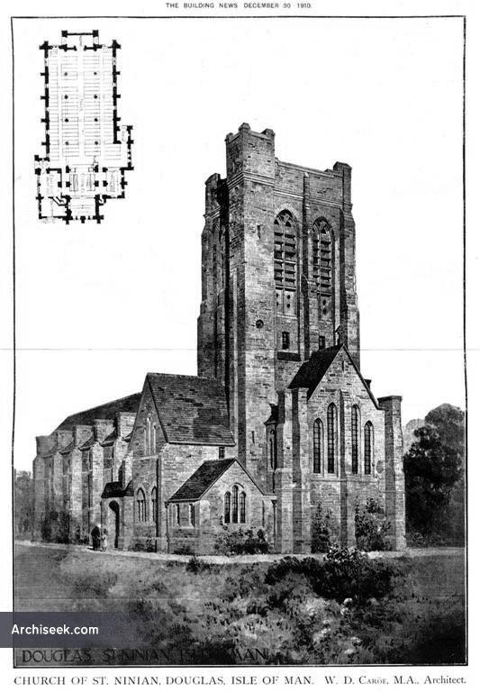 1910 – Church of St. Ninian, Douglas, Isle of Man