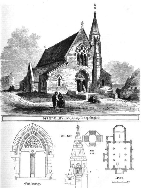 1862 &#8211; St. Olave&#8217;s Church, Ramsey, Isle of Man