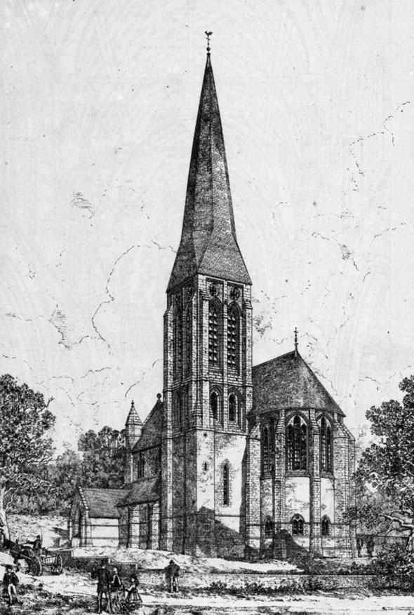 1876 &#8211; St Brendan&#8217;s Church, Kirk Braddan, Isle of Man