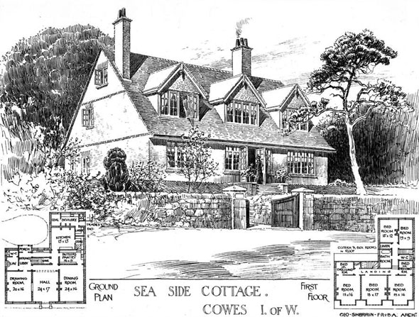 1904 &#8211; Seaside Cottage, Cowes, Isle of Wight