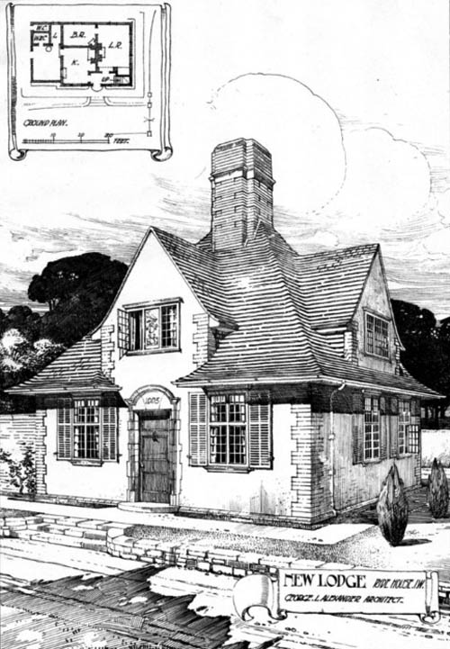 1906 &#8211; New Lodge, Ryde House, Isle of Wight