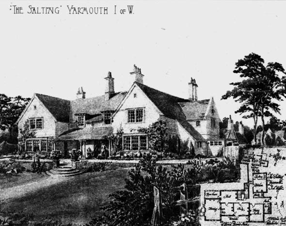 1905 &#8211; &#8220;The Salting&#8221;, Yarmouth, Isle of Wight